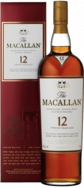 Macallan 12 Years Old, gift box