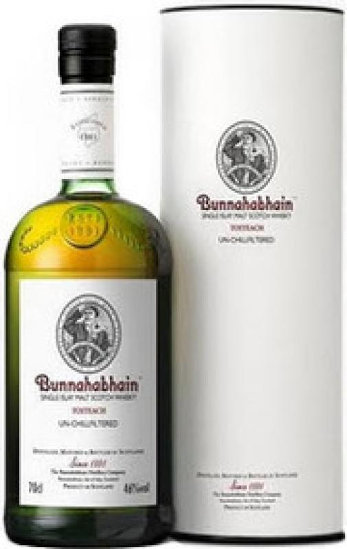 Bunnahabhain Toiteach Un-Chillfiltered, in tube