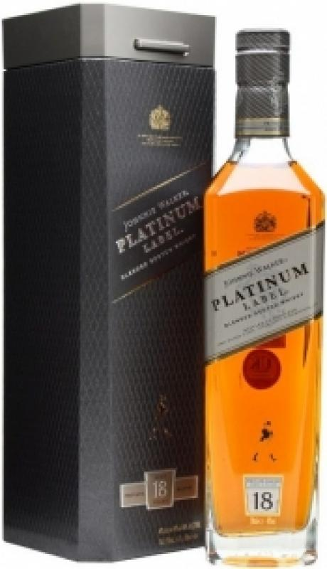 "Johnnie Walker, ""Platinum Label"", 18 Years Old, gift box"