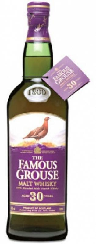 The Famous Grouse Malt Whisky aged 30 years
