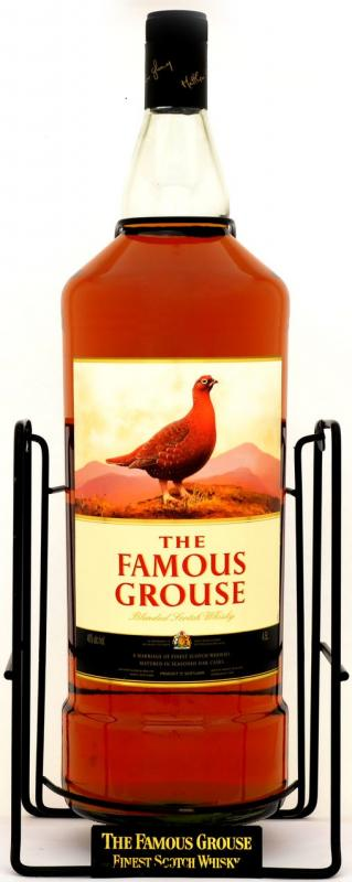 The Famous Grouse Finest, gift box with cradle