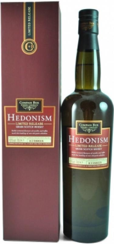 """Compass Box, """"Hedonism"""" limited release, gift box"""