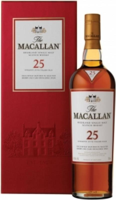 Macallan 25 Years Old, gift box