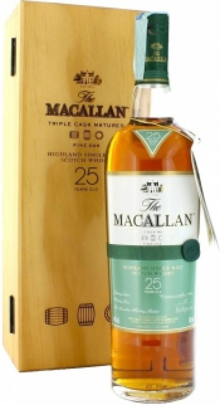 Macallan Fine Oak 25 Years Old, with box