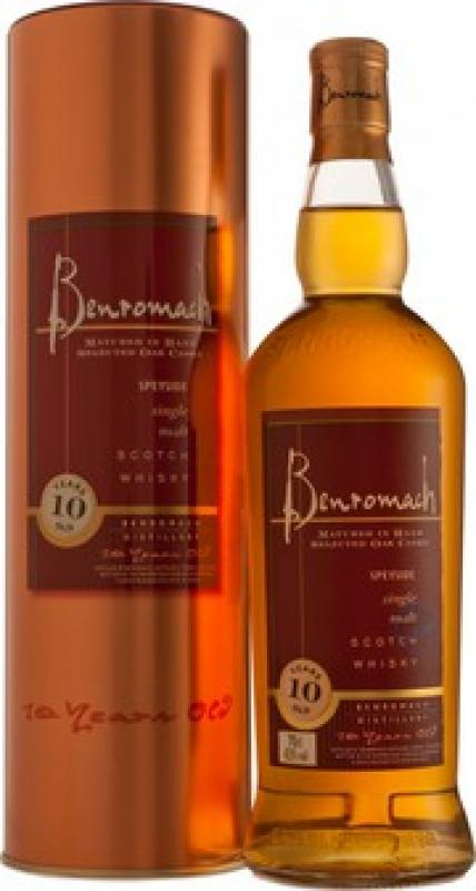Benromach 10 Years Old, in tube