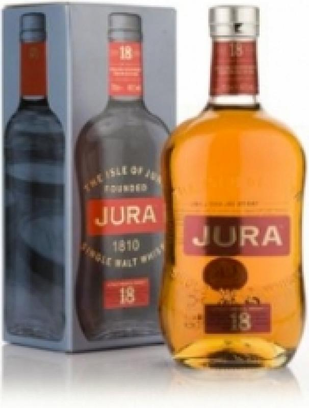 Isle Of Jura 18 years old, gift box