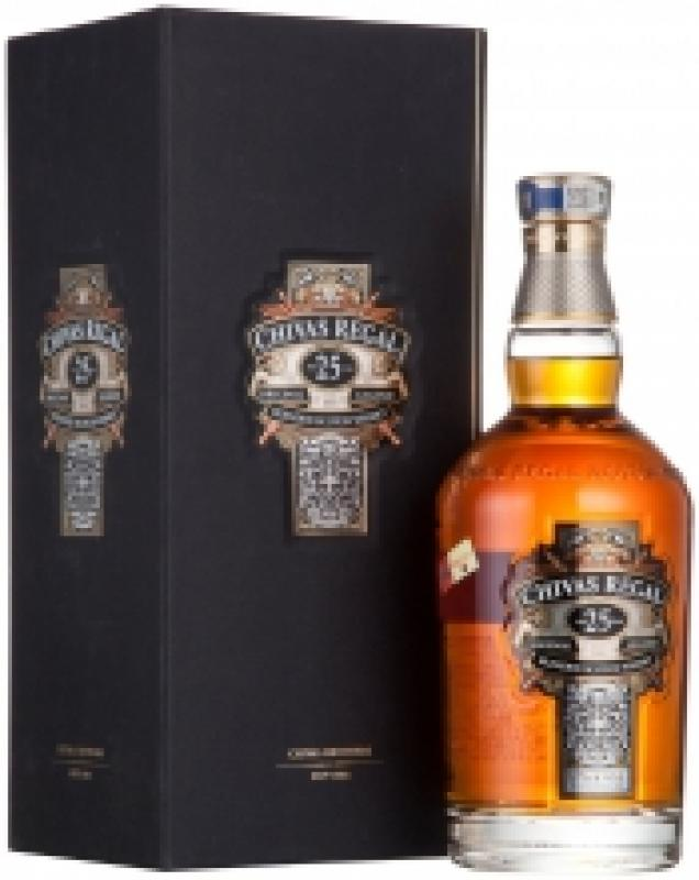 Chivas Regal 25 years old, with box