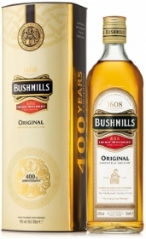 Bushmills Original, with metal box
