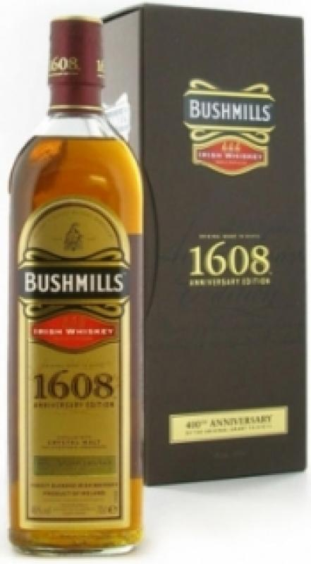 Bushmills 1608 Anniversary Edition, with box