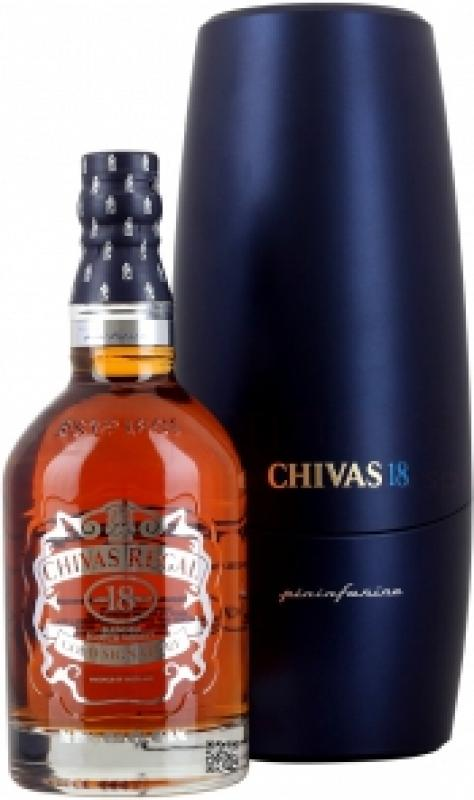 Chivas Regal 18 years old, gift box Pininfarina