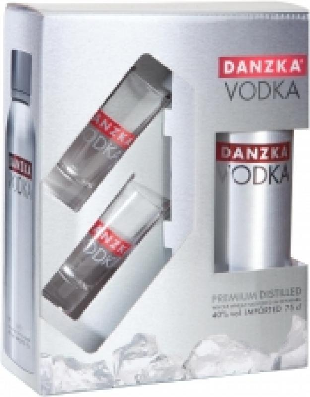 """Danzka"", gift box with 2 glasses"