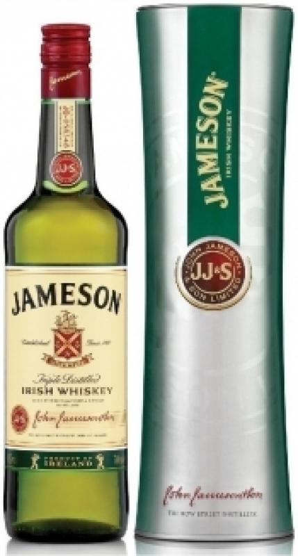 Jameson, metal tube