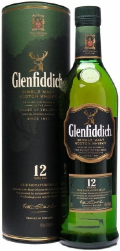 Glenfiddich 12 Years Old, in tube