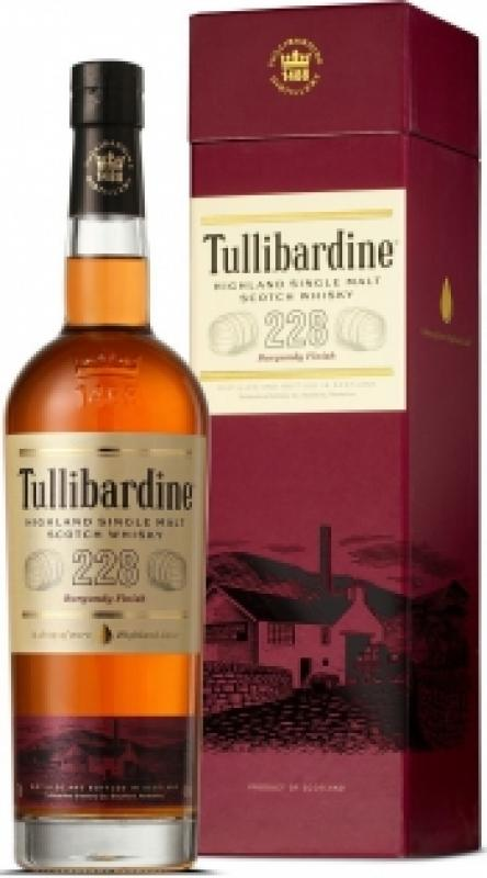 "Tullibardine, ""228 Burgundy Finish"", gift box"
