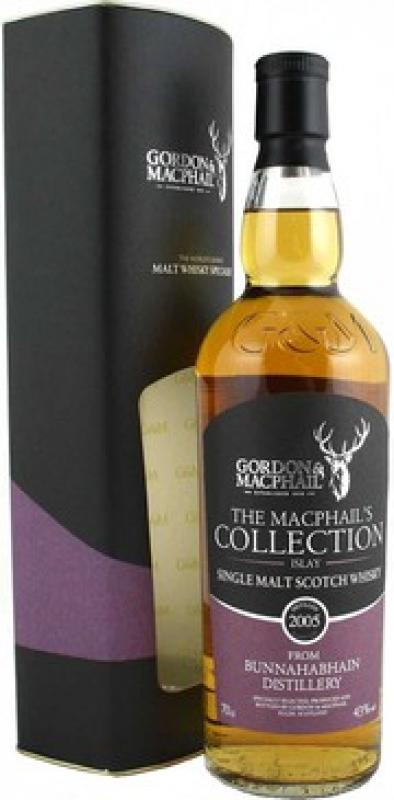 MacPhails Collection from Bunnahabhain, 2005, gift box