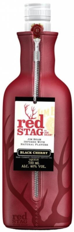 """Red Stag """"Black Cherry"""", with bottle cooler"""
