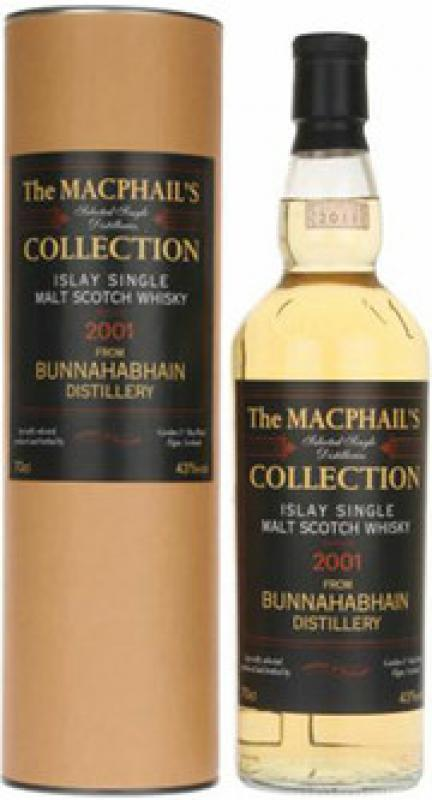 MacPhails Collection from Bunnahabhain, 2001, gift box