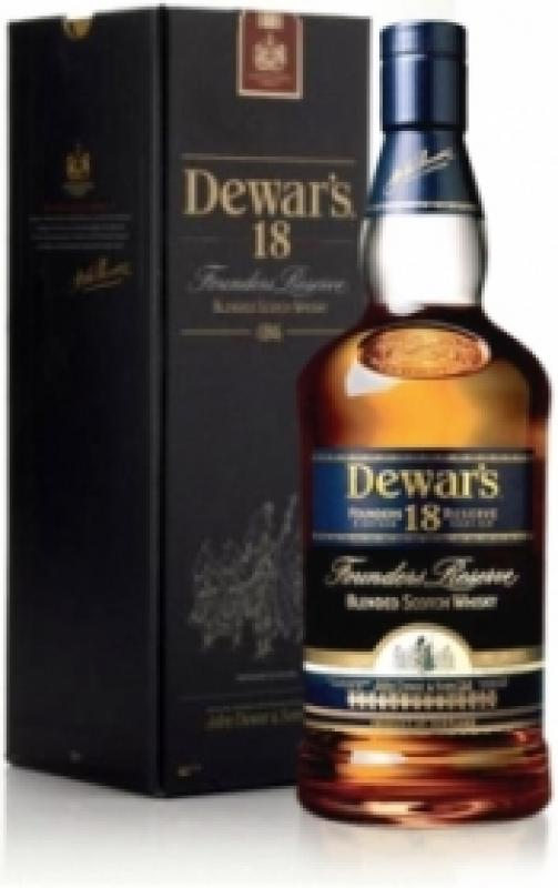 Dewar's 18 in box