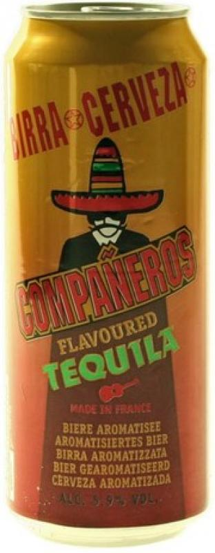 """Companeros"" Tequila, in can"