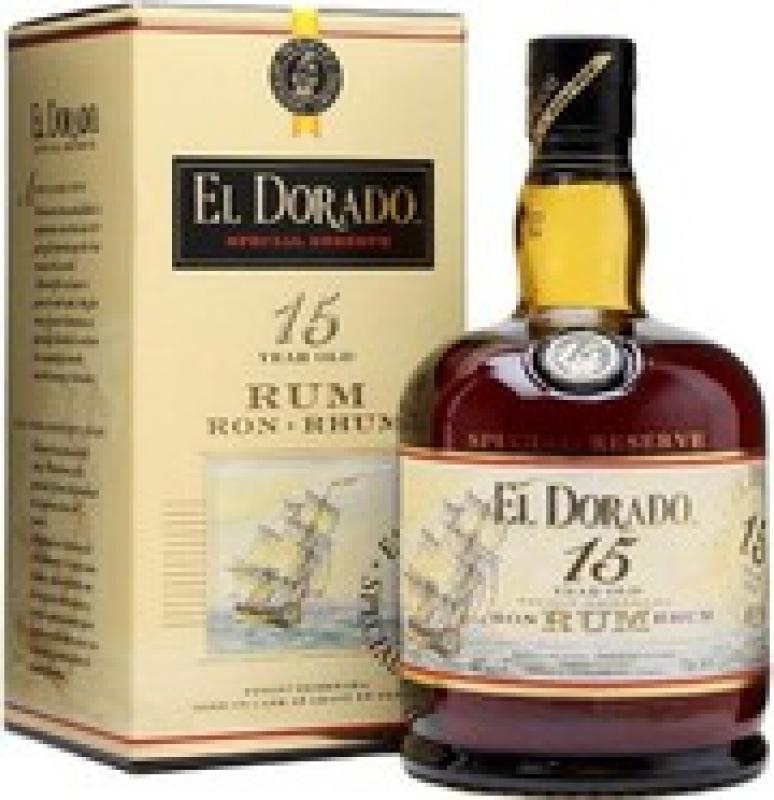 """El Dorado"" Special Reserve 15 Years Old, gift box"