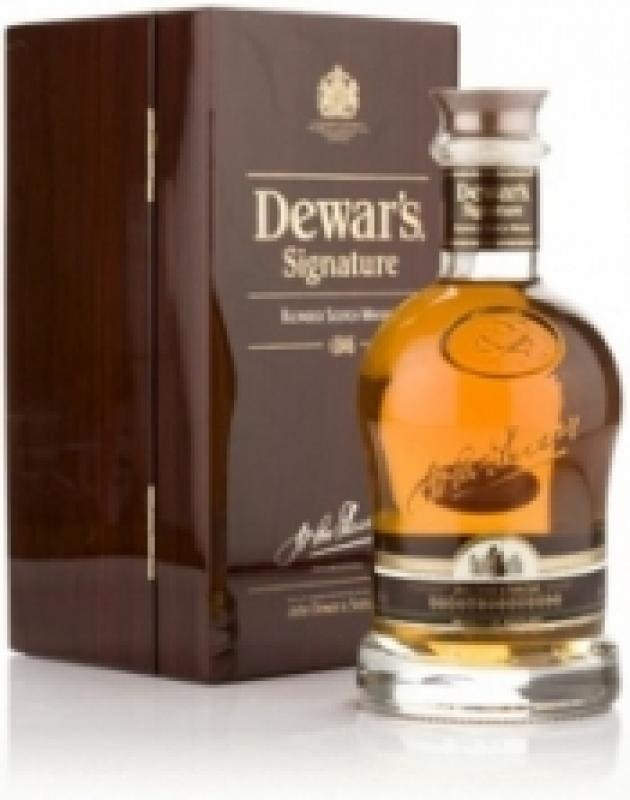 Dewar's Signature 21 years old in box