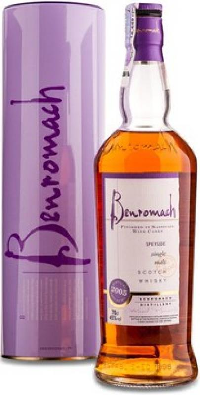 Benromach, Sassicaia Wood Finish, 2005, in tube