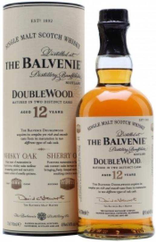 Balvenie Doublewood 12 Years Old, gift tube