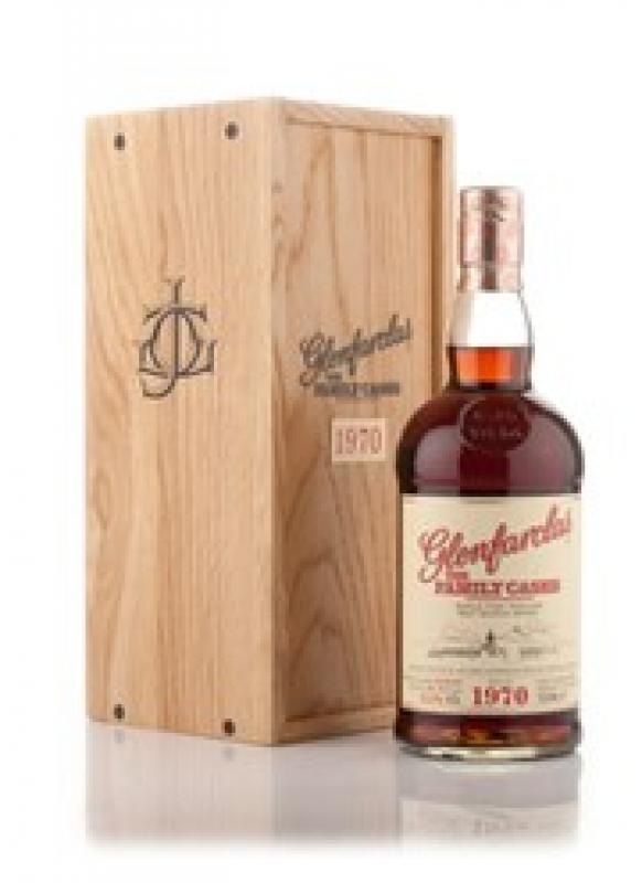 Glenfarclas 1970 Family Casks (53.6%), wood box
