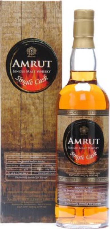 """Amrut"" Single Cask Bourbon, gift box"
