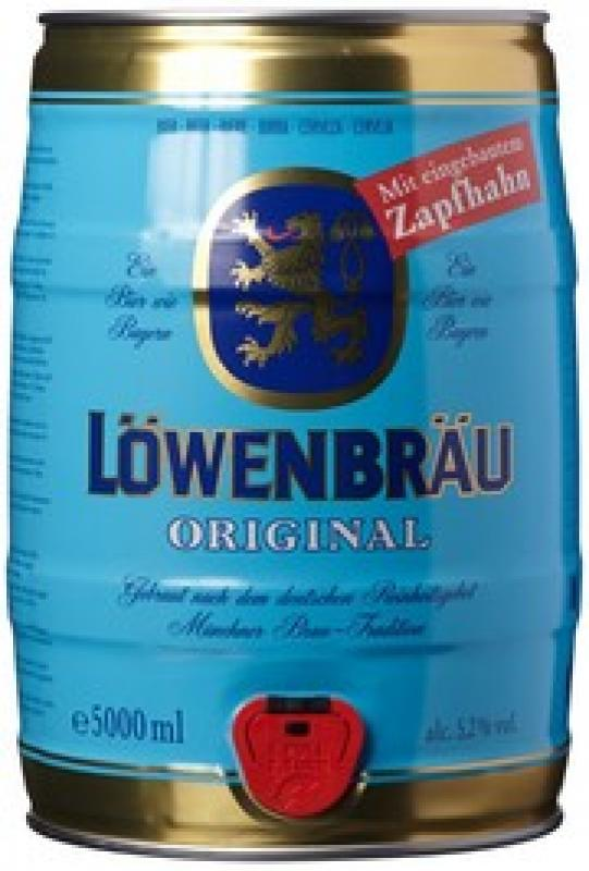 """Lowenbrau"" Original, mini keg"