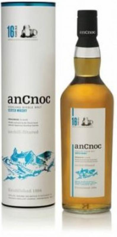 An Cnoc 16 Years Old Bourbon Barrels, gift box