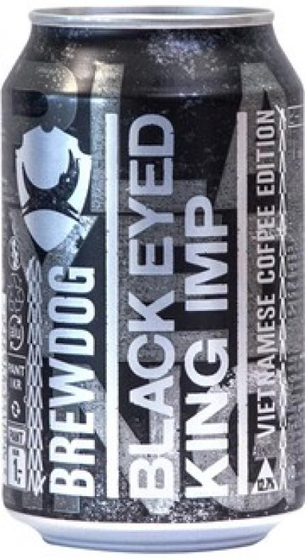 "BrewDog, ""Black Eyed King Imp"", in can"