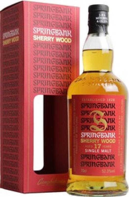 Springbank Sherry Wood, 17 Years Old, gift box