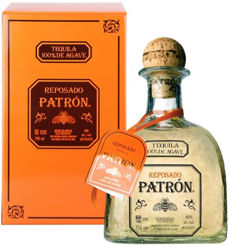 """Patron"" Reposado, gift box"
