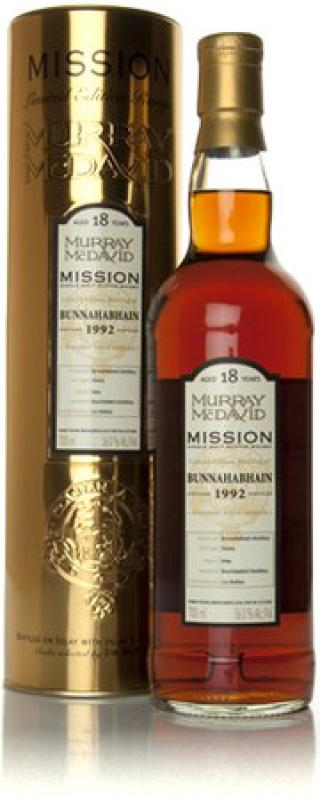 "Murray McDavid, ""Bunnahabhain"" 18 Years Old, 1992, in tube"