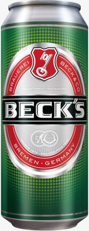 """Beck's"", in can"