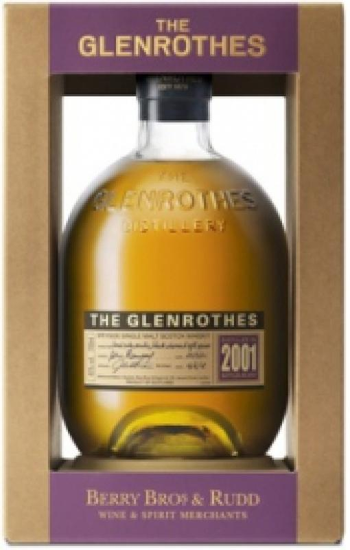 Glenrothes Single Speyside Malt, 2001