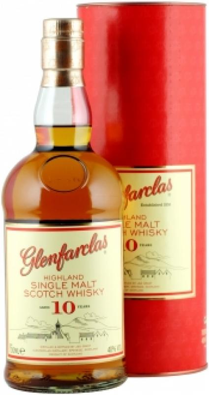 Glenfarclas 10 years, In Tube