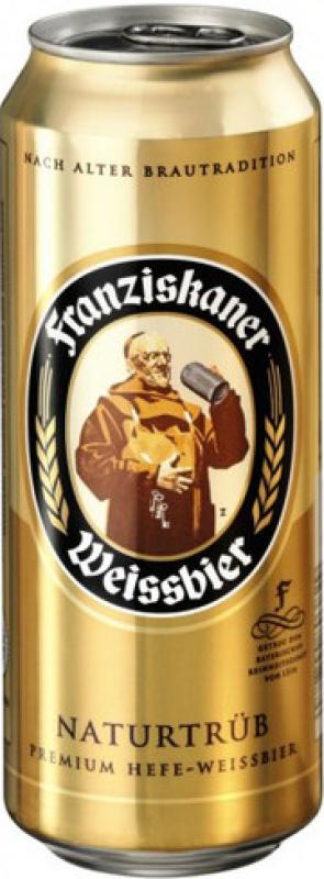 """Franziskaner"" Hefe-Weisse, in can"