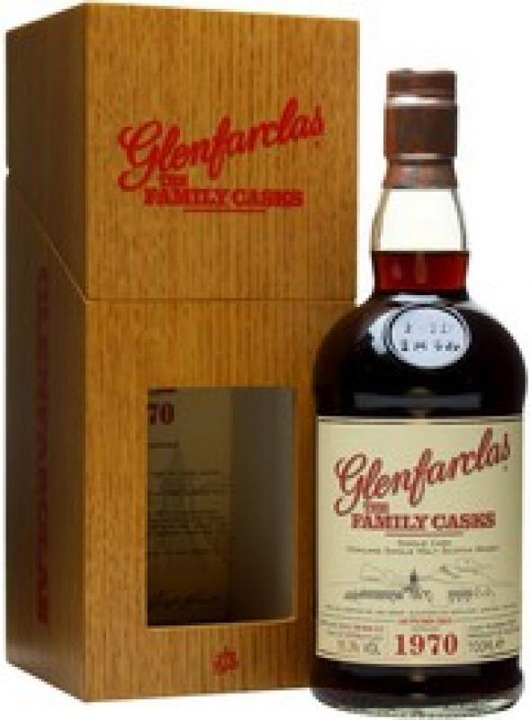 Glenfarclas 1970 Family Casks, in wooden box,