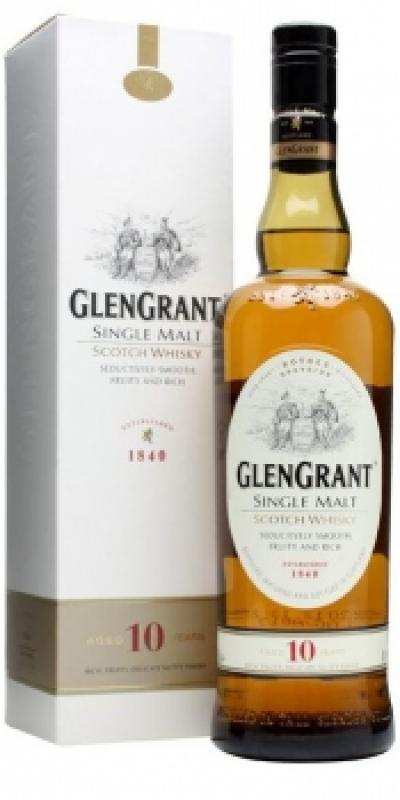 Glen Grant 10 YO with gift box