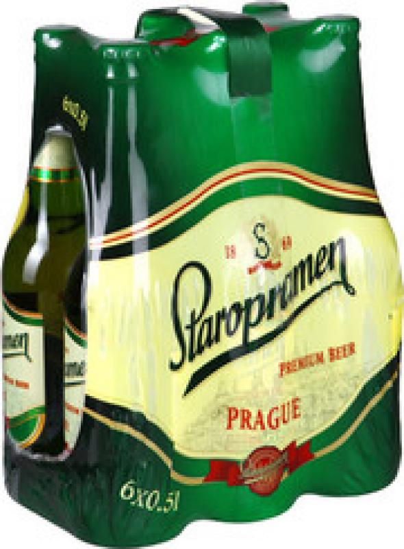 """Staropramen"" Premium, set of 6 bottles"