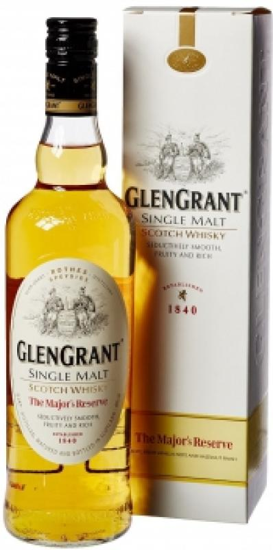 "Glen Grant, ""The Major's Reserve"", gift box"