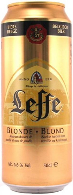 """Leffe"" Blonde, in can"