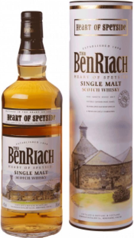 "Benriach, ""Heart of Speyside"", in tube"