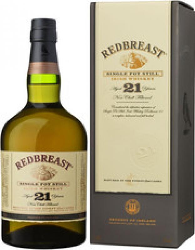 """Redbreast"" 21 Years Old, gift box"