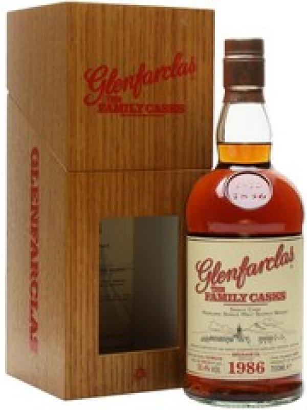 Glenfarclas 1986 Family Casks, in wooden box
