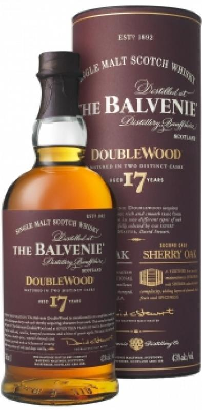 """Balvenie """"Doublewood"""" 17 Years Old, in tube"""