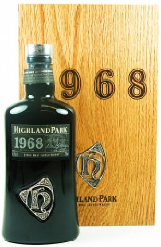 Highland Park, 1968, wooden box