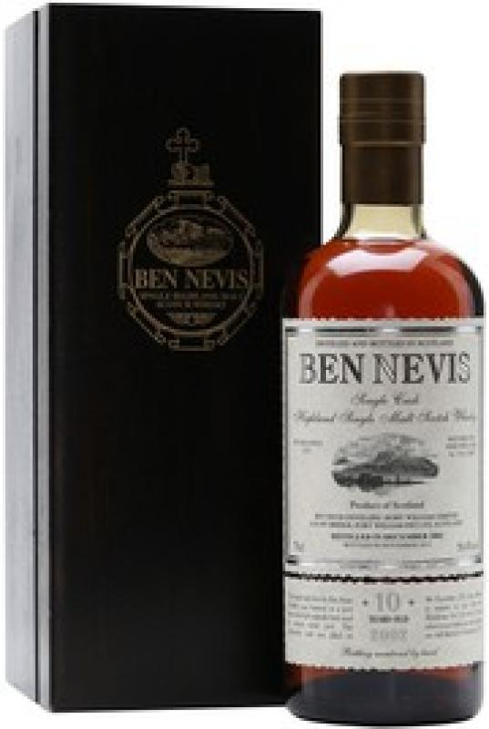 """Ben Nevis"" 10 Years Old, wooden box"